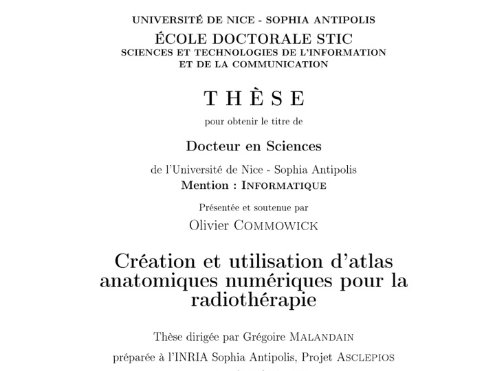 Latex phd thesis documentclass