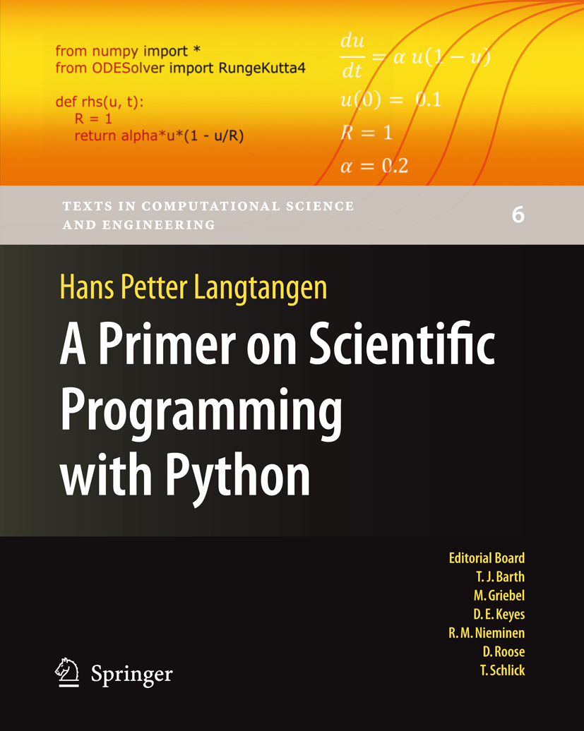 Resources for A Primer on Scientific Programming with Python
